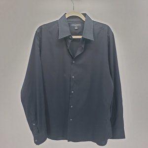 Banana Republic | Slim Fit Dress Shirt | Black